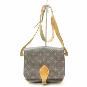 Auth Louis Vuitton Cartouchiere Pm Bag #1034L20